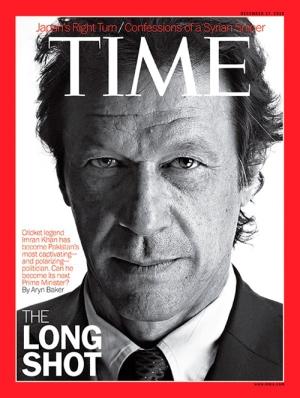 En la portada de Time (2012)